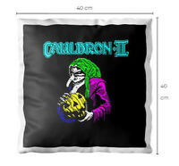 Halloween ZX Spectrum Next 48k Loading Screen Cushion Pillow CAULDRON 2 40X40CM