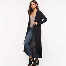2017 New Women Cardigan Sweater Long Knitted Hooded Outwear Jacket Coat Knitwear