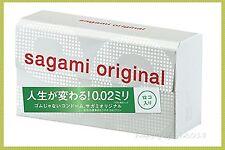 NEW Sagami Original 0.02 (2nd generation) Condom 12's/pk x 1 Pack (+Gift)