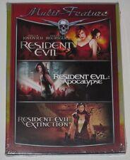 Resident Evil Trilogy (DVD, 2008) Brand New (Region 1 NTSC)