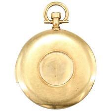 Cartier 18K EWC Yellow Gold Shutter Minute Repeater Pocket Watch