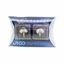 JICO record needle SHURE N44-7 / DJ replacement needle round 192-44-7/DJ 2-piece