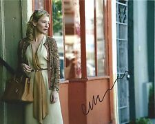 Cate Blanchett signed Blue Jasmine 8x10 photo - In Person Photo Proof