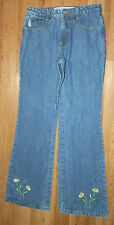 Juniors Girls Moe Clothing Brand Denim Jeans with Flare Legs size 5 / 28x31