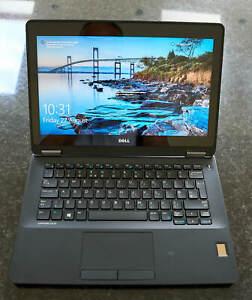 """Dell Latitude E7270 12.5"""", i7-6600U CPU, 256Gb SSD, Win10 Pro, PSU, (for parts)"""
