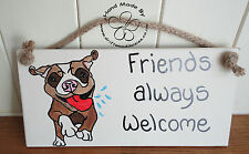 Welcome Hand Painted Decorative Plaques & Signs