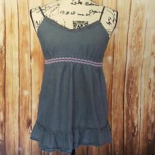 Mossimo Supply Company tunic with spaghetti straps size medium 100% cotton