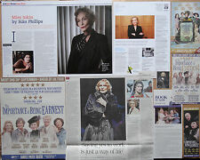 Sian Phillips - clippings/cuttings/articles pack