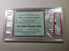 April 1967 Jimi Hendrix Experience Concert Ticket Newcastle Upon Tyne PSA