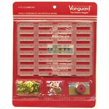 """Vanguard Coast Guard Mega Ribbon Kit: 32 Ribbons - 1/8"""" Space"""