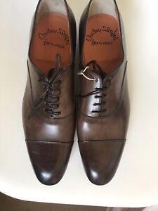 SANTONI Shoes Men's Shoes Business Shoes - Size 8,5 (42,5)