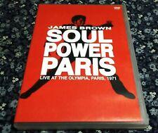 JAMES BROWN / 1971 FRANCE / RARE LIVE IMPORT / 1DVD