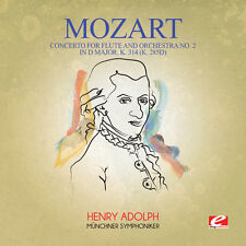 Mozart - Concerto for Flute & Orchestra No. 2 in D Major K. [New CD] Manufacture