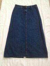 Casual Corner Annex Women's size 4 A-line Denim Modest Skirt