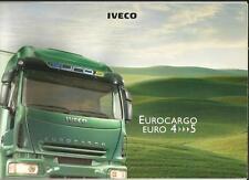 IVECO EUROCARGO 4 e 5 AUTOCARRO CAMION 2006 BROCHURE DI VENDITA