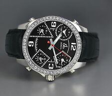 Jacob & Co 5TZ Diamond Accents 40mm With 2.00ct White Diamond Bezel JCM2DA