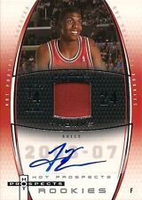 06-07 FLEER HOT PROSPECTS - TYRUS THOMAS - ROOKIE PATCH AUTO #081/250