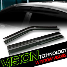 Jdm Mu Design Rain/Wind Guard Smoke Tint Vent Shade Window Visors 09-16 17 Flex