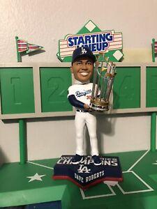Dave Roberts  Los Angeles Dodgers World Series Champion Bobblehead