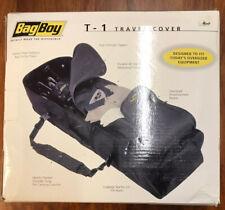 Bag Boy T-1 Golf Travel Cover Bag (Black)