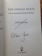 The Single Helix, Signed By Steve Jones. Hardback 1st Editin.