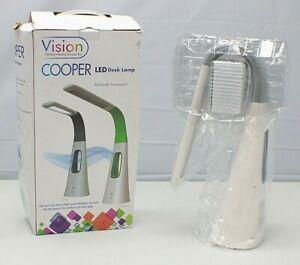 Vision Cooper LED Desk Lamp Bladeless Fan w/Touch Dimmer VLED1603G ~NEW Open Box