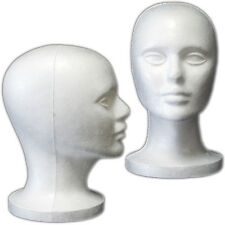 Less Than Perfect Mn-408-Ltp 2 Pcs Female Styrofoam Mannequin Head