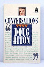 Conversations with Doug Aiton ABC radio interviews illustrated used paperback 91