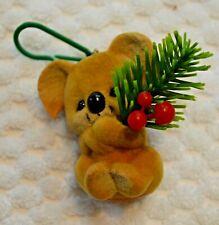 "Hallmark ""Christmas Koala"" Bear Ornament 1983 w box"
