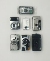 """Lot Of 7 Mixed Camera's """"AS IS """" NOT TESTED"""