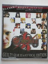 NEW Guilty Gear XX in N.Y. Vocal Edition Original Soundtrack OST CD Anime