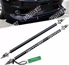 Carbon Fiber Front Rear Frame Wind Splitter Rod Support Lengh (9.7-13.2Inch) New
