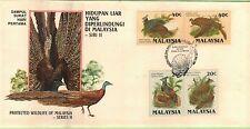 MAL 1986 Protected Wildlife Series II ~ FDC