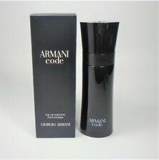 Armani Code by Giorgio Armani Edt For Men 2.5 oz / 75 ml * New In Sealed Box *