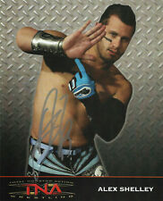 TNA ALEX SHELLEY HAND SIGNED AUTOGRAPHED 8X10 PROMO WITH COA