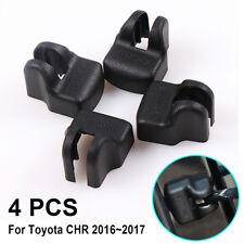 4x Plastic Door Lock Waterproof Protector Cover Fit Toyota C-HR CHR 2016~2017