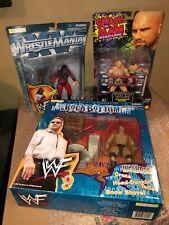 The Rock Rock Bottom Set Jakks Pacific WcW Smash Goldberg Kane WWF Fully Loaded