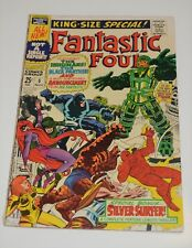 Marvel Comic Book Fantastic Four 5 Silver Age Surfer