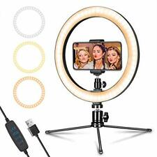 """LED Ring Light 10"""" with Tripod Stand & Phone Holder , Ring Light for Photography"""