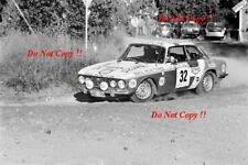 Kyosti Saari Alfa Romeo 2000 GTV 1000 Lakes Rally 1975 Photograph 1