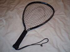 Black & Blue Head Pyramid Fury Over Sized Racquetball Racket Ec No Case ^