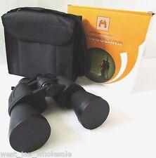 Skyline Usa High Quality Black Binoculars 10x-30x50 Zoom w/ Carry Case & Strap