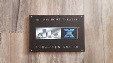 DOLBY ATMOS/DTS X/CANTON/YAMAHA Leinwand 20x30 cm Schild Logo/Bild