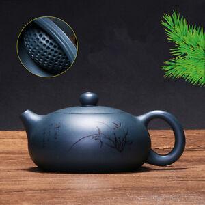 authentic yixing zisha tea pot cup handpainted 188 infuser hole marked xishi pot