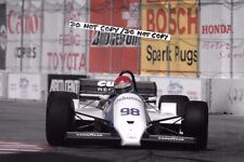 9x6 fotografia, Kevin Cogan LIGIER LC02 Cosworth DFX carrello LONG BEACH 1984
