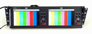 "Datavideo TLM-702 2x7"" SD TFT LCD Monitor, Rack Mountable, Composite, NTSC/PAL"