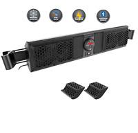 MTX MUDSYS41 Bluetooth Overhead UTV Audio System W/ MUDSYSPFCLAMP  MUDSYSXX