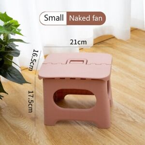 Folding stool home chair portable outdoor travel kitchen seat strong furniture