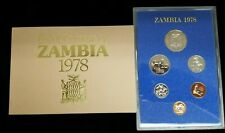 1978 Proof Coinage of Zambia
