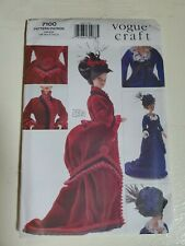 Vogue Craft Fashion Doll Sewing Pattern 7100 685 Historical Clothes 11.5 L